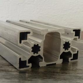 Perfil De Aluminio Estructural 45x90 Ranurado