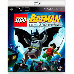 Lego Batman - The Videogame Ps3 Midia Fisica