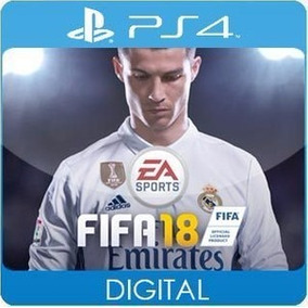 Fifa 18 Ps4 Portugues Garantia Eterna {* Midia / Digital *}