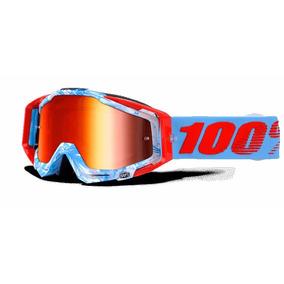 Goggles Enduro Motocross 100% Racecraft Bobora Mica Roja
