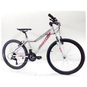 Bicicleta Mtb Andes Rodado 24 21 Velocidades Shimano