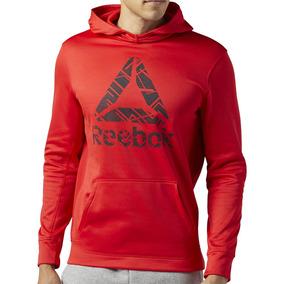 Sudadera Atletica Polar Workout Ready Hombre Reebok Br7800