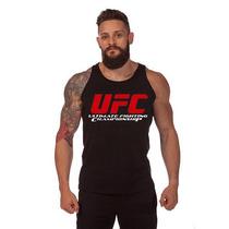 Camiseta Camisa Regata Ufc Ultimate Fighting - Musculação