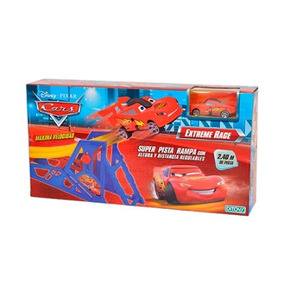 Super Pista Extreme Race Cars Ditoys Tipo Hot Wheels