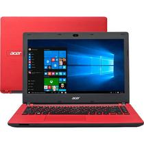 Notebook Acer Es1 Vermelho Intel Celeron 32gb 2gb Ram Win 10