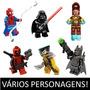 Minifigures Super Heroes Marvel Avengers Lego Compatível Av1