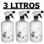 Veneno Spray Mata Pulgas,cupins,baratas,etc.,kit 3 Produtos