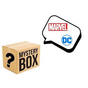 Caixa Misteriosa Mystery Box Marvel Dc Tamanho P 5 Produtos