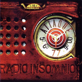 Attaque 77 Radio Insomnio Cd Nuevo Oferta Jauria