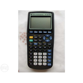 Calculadora Cientifica Ti-83 Plus Texas Instruments