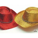 Sombreros Cowboy Con Brillantina Cotillón
