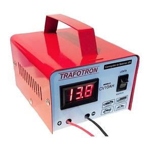 Carregador De Bateria 12v 10ah Com Leitor Digital Cv10
