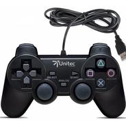 Control Juegos Pc Usb Dualshock Con Vibración