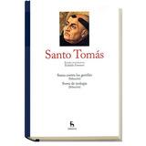 Gredos Grandes Pensadores Santo Tomas Entrega 33