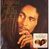 Bob Marley Legend 30th Anniversary Tri Color 2 Lp Vinilo
