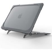 Carcasa Case Para Macbook Anti Impacto Con Soporte Elevado