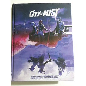 City Of Mist Role-playing Game Core Book Rpg