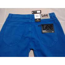 Linda Calça Lee Mack Color Blue,masculina,ótimo Preço!