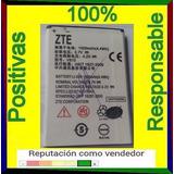 Pila Batería Zte Kiss Ll Max 15días Uso-10% Descuent0 Pregun