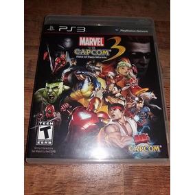 Marvel Vs Capcom 3 - Fate Of Two Worlds Ps3 Mídia Física