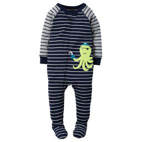 Pijama Macacão Algodão Malha Carters Menino 12, 18, 24 Meses