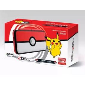 New Nintendo 2ds Xl Novo 4gb Pt Br Lançamento Pronta Entrega