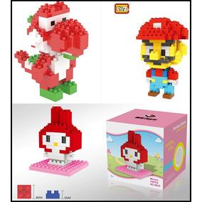 Kit Blocos De Montar Mario Bros Yoshi Similar Ao Lego