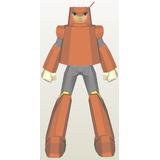 Disfraz Armadura - Wooman Megaman - Anime -patrones