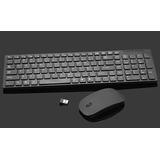 Teclado+mouse Inalámbrico Combo 2.4 Ghz Wireless