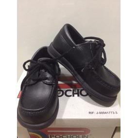 Zapatos Pocholin Para Niños Talla 25 Escolar Colegial