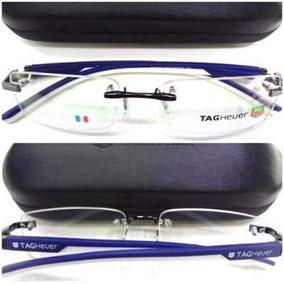 Armação Óculos S  Aro Emborrachado Th0843 Azul Com Branco · R  89 89a282eaa6