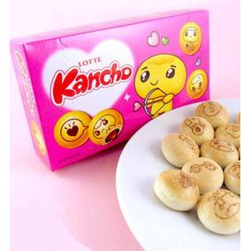Doces Importados Japao - Lotte Kancho Biscoitos Recheados