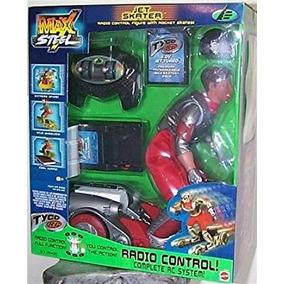 Juguete Max Steel Jet Patinador W / Control Remoto