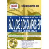 Apostila Técnico Legislativo De São José Dos Campos Sp 2018