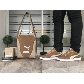 Zapatos Hombre,zapatos Puma,combo Zapatos+ Bolso+ Billetera,