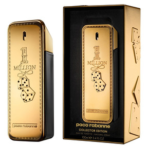 Perfume Paco Rabanne One Million Colector 100ml Hombre (mil