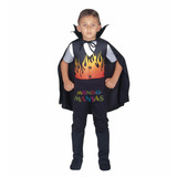 Disfraz Halloween Dracula De Fuego Mundo Manias