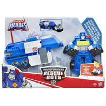 Transformers Rescue Bots Chase Vira Caminhao