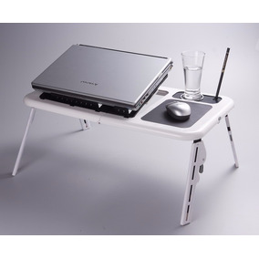 E-table Cooler Com Hub Usb Branca -mesa Cooler Para Notebook