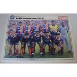 Poster Futebol Bahia Campeão Baiano 1994