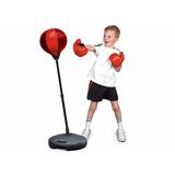 Set De Boxeo Puching Ball Para Niños Incluye Guantes