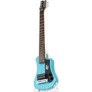 Guitarra Hofner Hct-sh Shorty Travel Guitar Bl Con Funda