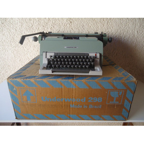 Máquina Escrever Olivetti - Underwood 298 - Nova Na Caixa
