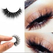 Top 3d Cilios Macio Longo Natural Grosso Maquiagem Eye La