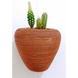 Lindo Vaso De Parede Traçado Para Plantas Diversas Enfeite