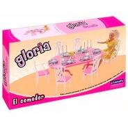 El Comedor De Gloria Muebles Para Muñecas En Mi Cielo Azul