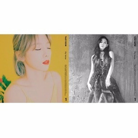 Kpop Taeyeon My Voice 1st Full Album Standard Edition