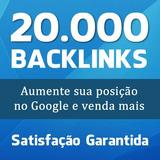20 Mil Backlinks Para Seu Site - Seo Google Rank