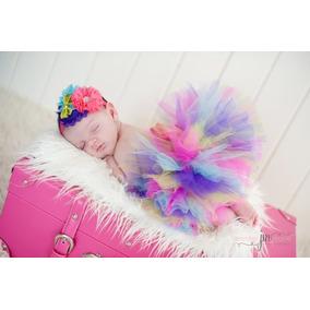 Tutu Para Bebes Recien Nacidas Multicolores