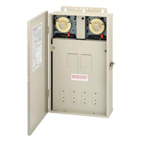 Intermatic T40404r Pool / Spa Panel De Control 2xt104m Dpst